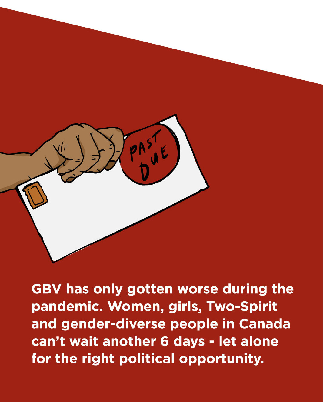 Gender Based Violence has only gotten worse during the pandemic. Plan to end Gender-Based violence is long Past Due.